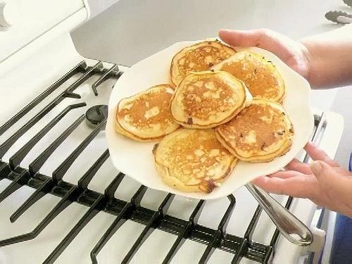 how to make pancakes like perkins