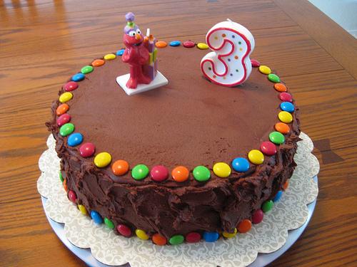 Печем торт на день рождения ребенка