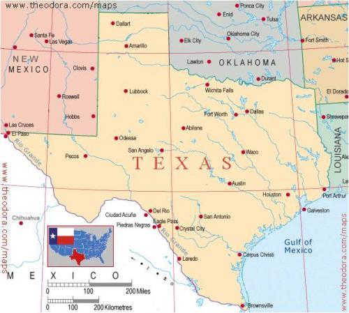 Landform Map Of Texas.Tar Heel Reader Texas Landforms